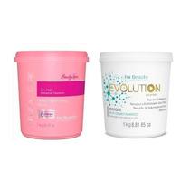 For Beauty Evolution Másc Anti Desbotamento 1kg + Dr Hair 1k