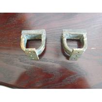 Antiguos Candados Para Rifles De Hierro Y Bronce Sin Llave
