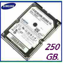 Disco Duro 250 Gb. Sata 5400 Rpm, Compatible Con Pc Y Laptop