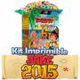 Kit Imprimible Jake Y Los Piratas De Nunca Jamas Nuevo