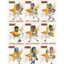 Barajitas De Beisbol Score - Line Up All Star Game 1992