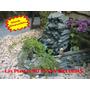 Cascada Mediana Ideal Exterior Con 3 Canteros Para Plantas