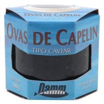 Ovas De Capelin Preta - Tipo Caviar (100gr) R0855