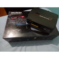 Capturadora Avermedia Game Capture Hd 1080p Usb/discoduro