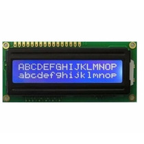 Display Lcd 16x2 - Backlight Azul - Escrita Branca - Rt162-7