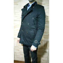 Chaqueta Zara Abrigo Fashion - Slim Fit Talla S