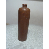 Botella De Ginebra Antigua De Barro Peters Hnos S.a. 1