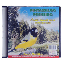 Cd Pintassilgo Pinheiro Canto Metálico