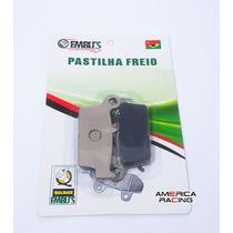 Pastilha Freio Traseiro Honda Falcon Xre300 Xr600