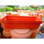Jardinera / Matero Recatangular Plástico De 50 Cm