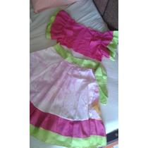 Disfraz De Rumbera Para Niña Talla 8-10 Años