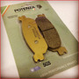 Pastilha Dianteira Potenza Ptz275kxt Dafra Zig 125 2009 2016