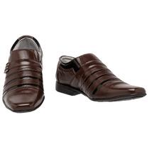 Sapato Masculino Social Italiano Couro Tchwm Shoes Roma