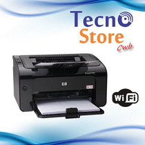 Impressora Hp Pro Laserjet P1102w 1102w Wifi Tonner 110v