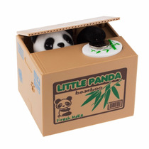 Alcancía Roba Monedas Panda Mono Perro Gato Raton