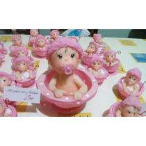 Bebé En Tacita Souvenir Nacimiento O Bautismo Porcelana Fria