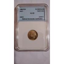 Moneda De Plata Puerto Rico Certificada