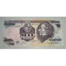 Billete Uruguay 10000 Nuevos Pesos Moneda Nacional *024