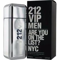 Perfume Carolina Herrera-212 Vip Men Edt 100 Ml