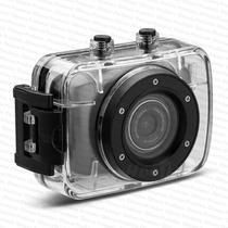 Camera Hd Filmadora Action Camcorder Prova Dágua Com Suporte