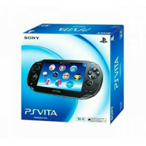 Psvita Pch-2001 Playstation Wifi Sony+cartao 4gb Brinde