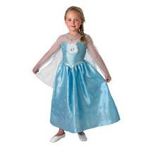 Disfraz Elsa Frozen Original Disney Store Talle M Giro Didac
