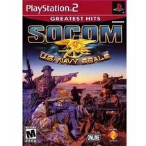 Jogo - Socom U.s. Navy Seals (greatest Hits) - Ps2