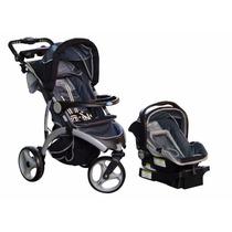 Cochecito Sbt 485 Tri Sport Infanti - Huevito Y Base P/auto