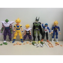 Dragon Ball Articulado Goku Gohan Trunks Picollo Cell Vedita