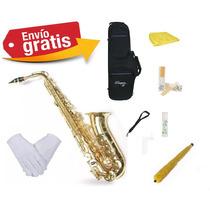 Saxo Alto Parquer Custom + Kit De Accesorios ¡oferta!