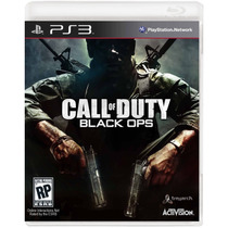 Call Of Duty Black Ops - Jogo Ps3