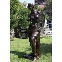 Escultura Venus De Milo De Bronce Tamaño Natural