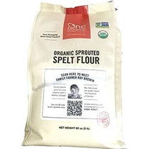 Harina De Espelta Brotada Organica Sprouted Spelt Flour