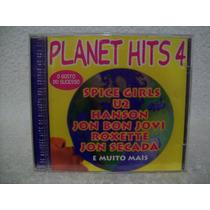 Cd Planet Hits 4- Hanson, U2, Jon Bon Jovi, Roxette, Thalia