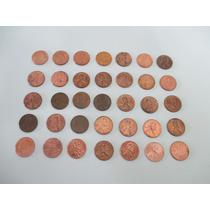 Moedas 1 Centavo De Dólar Americano Várias Datas