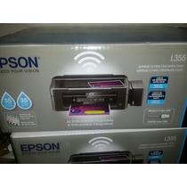 Impresora Epson L355 Tinta Continua Wifi Nuevas Con Garantia