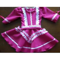 Vestido De Prenda Recém Nascido Roupa Típica Bebê Roupa Baby