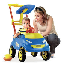 Carrinho Passeio Para Bebê Baby Car Azul Homeplay 027330