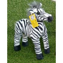 Bicho Safari Zebra Pelúcia