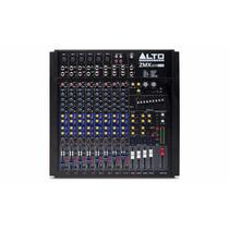Mixer De 12 Canais Com Efeitos E Interface Usb Zmx124 Fx Usb