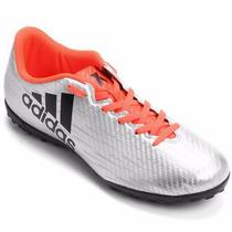 Botines De Fútbol Adidas X 16.4 Césped Artificial Nuev
