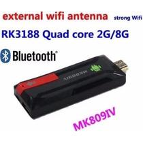 2 Peças Mini Pc Mk809 Iv 4 Quad Core Android Tv 4.4 8gb