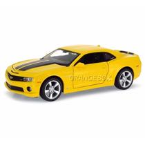 Chevrolet Camaro Ss 2010 1:24 Maisto Amarelo 31207-amarelo