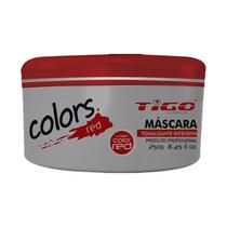Tigo Máscara Color Red Oleo Argan Macadâmia Tratamento 300gr