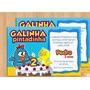 20 Convites Para Aniversario Infantil / Galinha Pintadinha