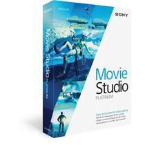 Sony Movie Studio Hd Platinum 13 - 32 Bits E 64 Bits