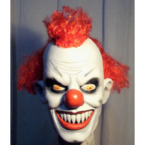 Payaso Asesino Mascara Latex Halloween Terror Killer Clown