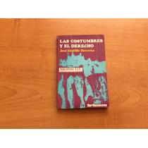 Libro Las Costumbres Y El Derecho