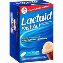 Lactaid Fast Act 60 Cápsulas Lacrado Importado Intolerância