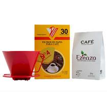 Café De Alta Gama Ezenza +portafiltro Y 30 Filtros De Regalo